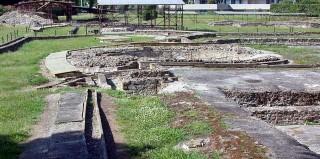 Montegrotto, area archeologica di epoca romana.