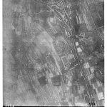 1944, rilievo aereo di Battaglia Terme dei ricognitori inglesi