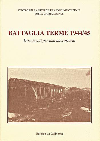 Battaglia Terme 1944-45, copertina