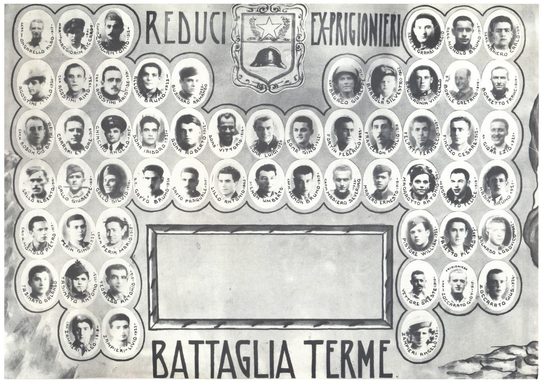 Reduci ed ex -prigionieri di Battaglia Terme.