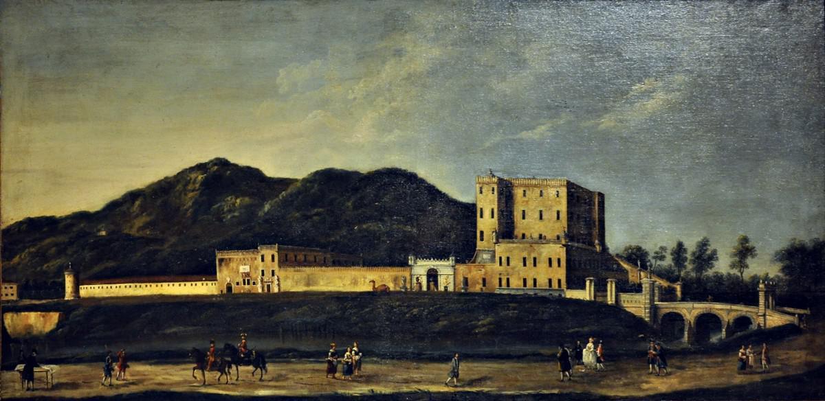 Castello del Catajo, olio su tela del XVIII secolo.