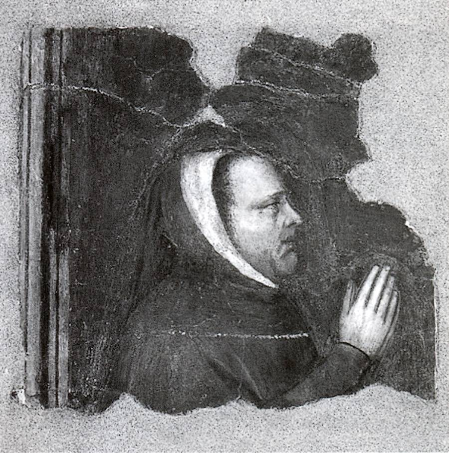 Pittore padovano, Francesco Petrarca in preghiera.