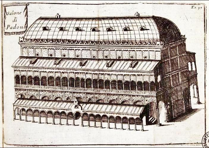 Vincenzo Maria Coronelli, Salone di Padova, 1697.