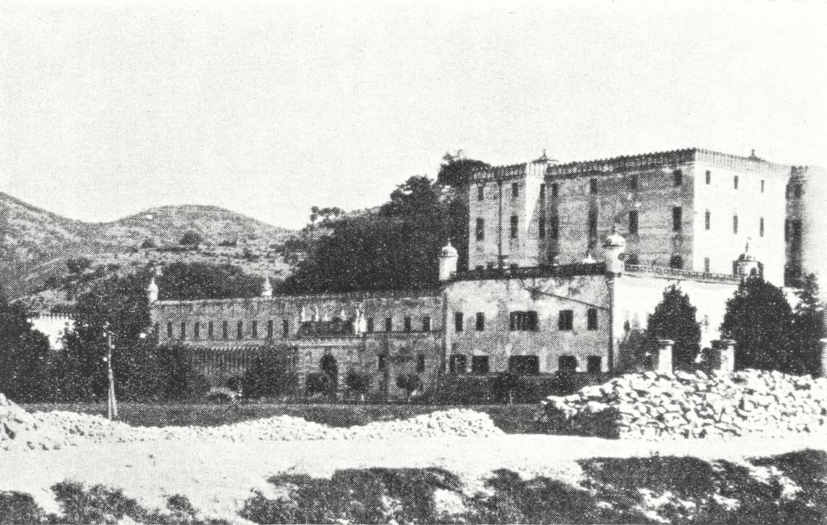 Il castello del Catajo.