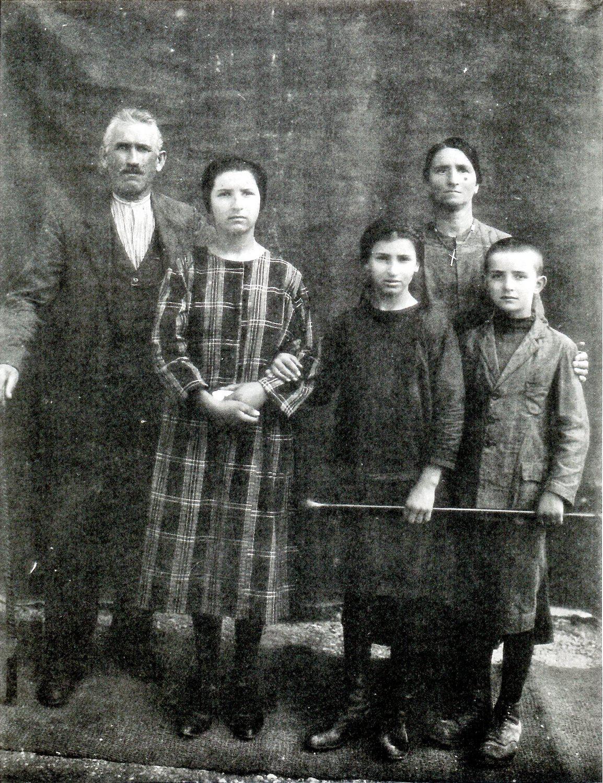 Borso del Grappa, la famiglia Giacomelli.