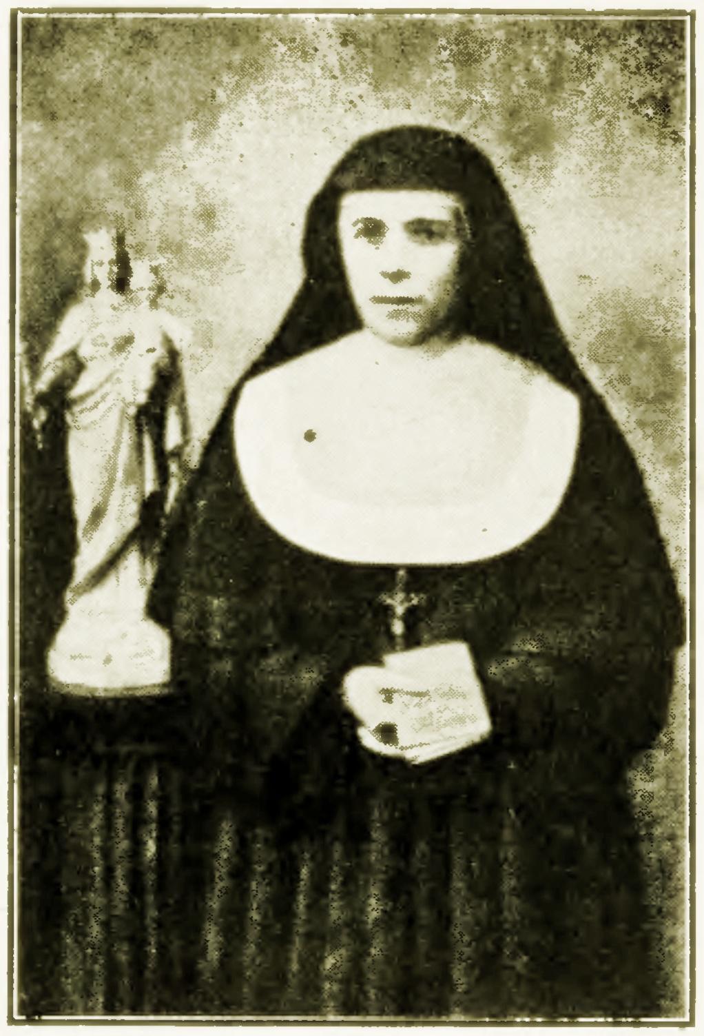 S. Maria Domenica Mazzarello. Con San Giovanni Bosco è stata cofondatrice delle Figlie di Maria Ausiliatrice.