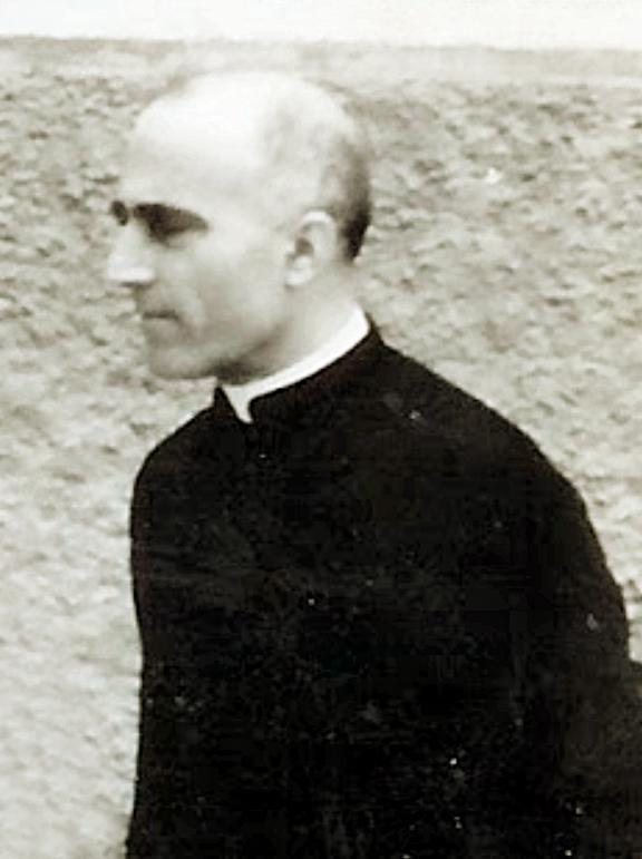 Don Emilio Garbin nel 1952.