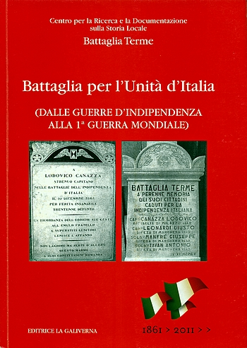Battaglia per l'Unità d'Italia, copertina.