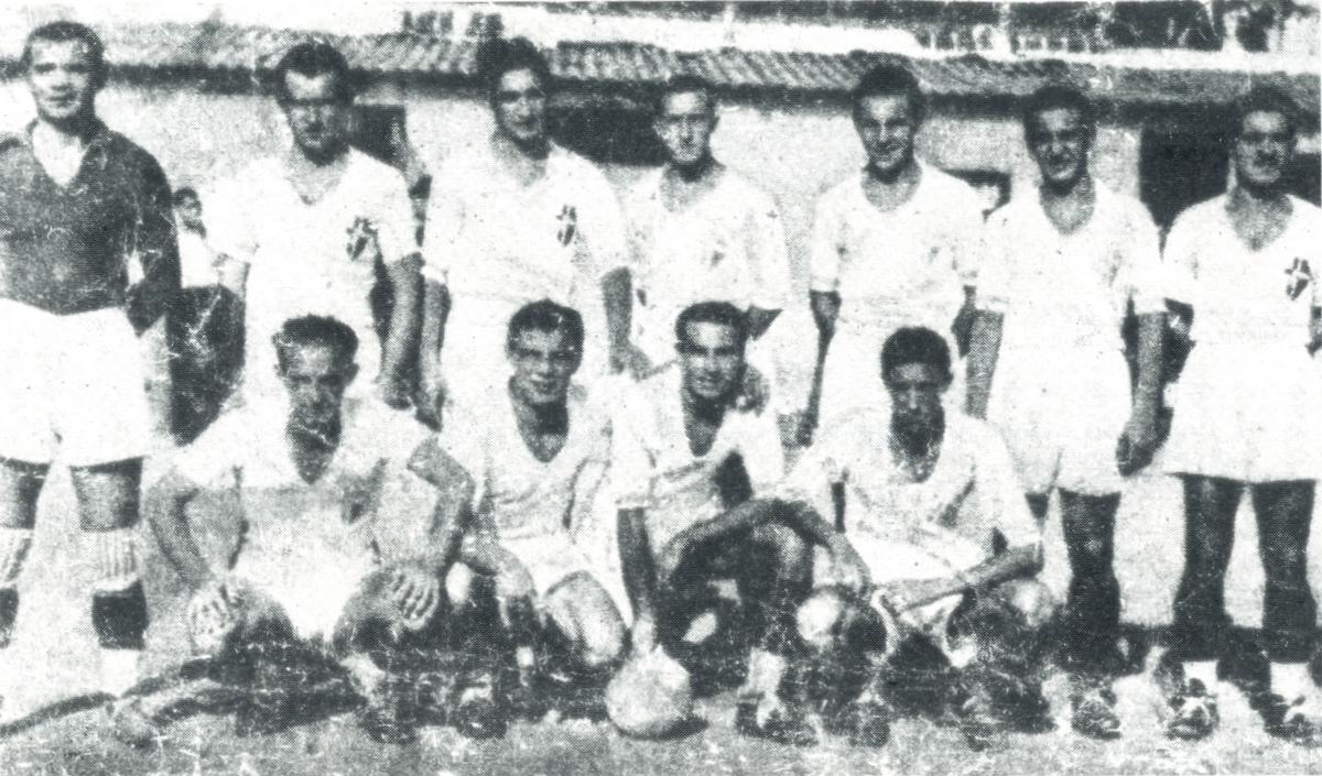 Una delle formazioni dell'AFC Padova del 1935/36.