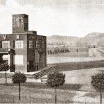 La casa del fascio di Battaglia Terme, ora biblioteca comunale