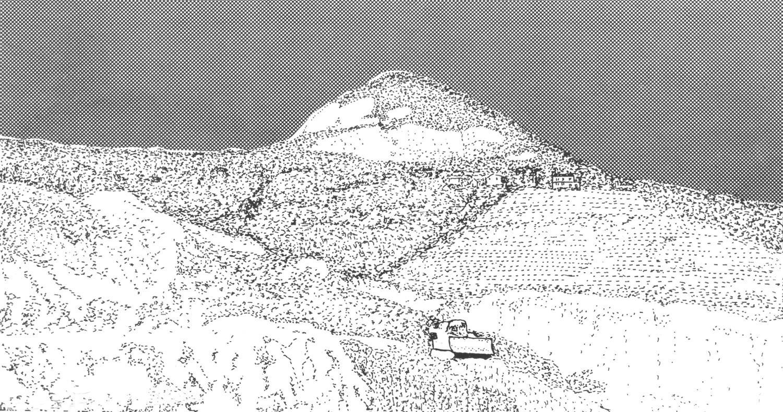 Colli Euganei, immagine di copertina del quaderno di documentazione n. 3.