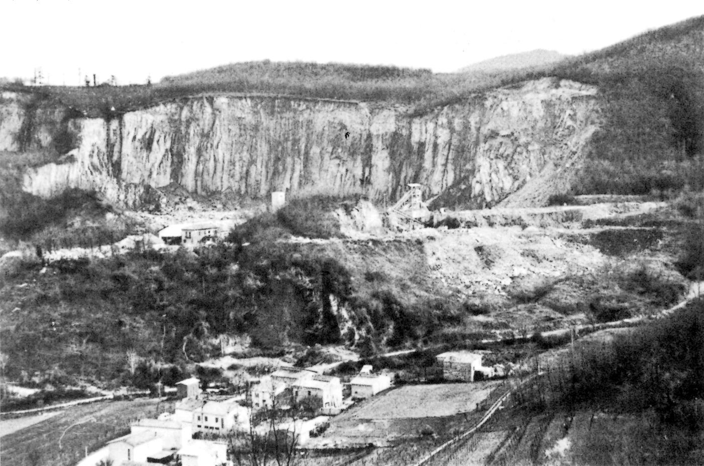 Cava Valdimandria a Montegrotto Terme.