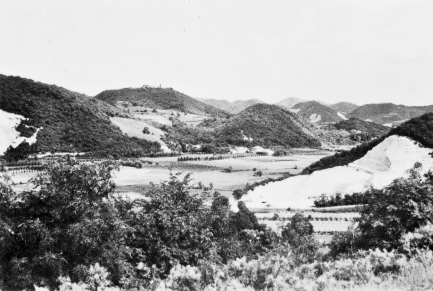 Cava Vallarega sul monte Solone (Teolo).