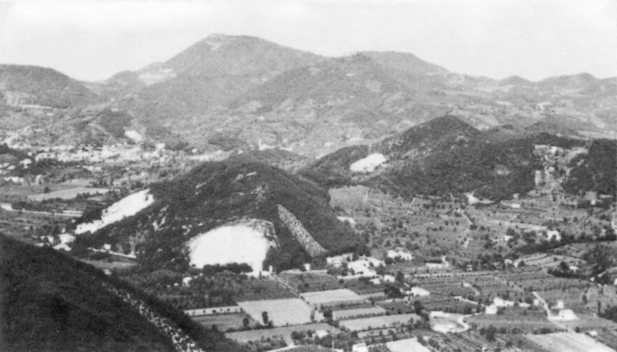 Monte Cimisella a Galzignano Terme.