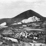 Monte Rusta e la frazione di Fontanafredda.