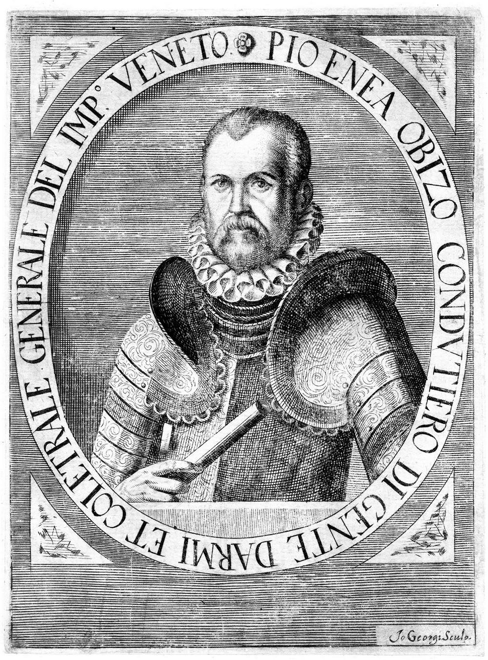 Ritratto di Pio Enea I degli Obizzi.