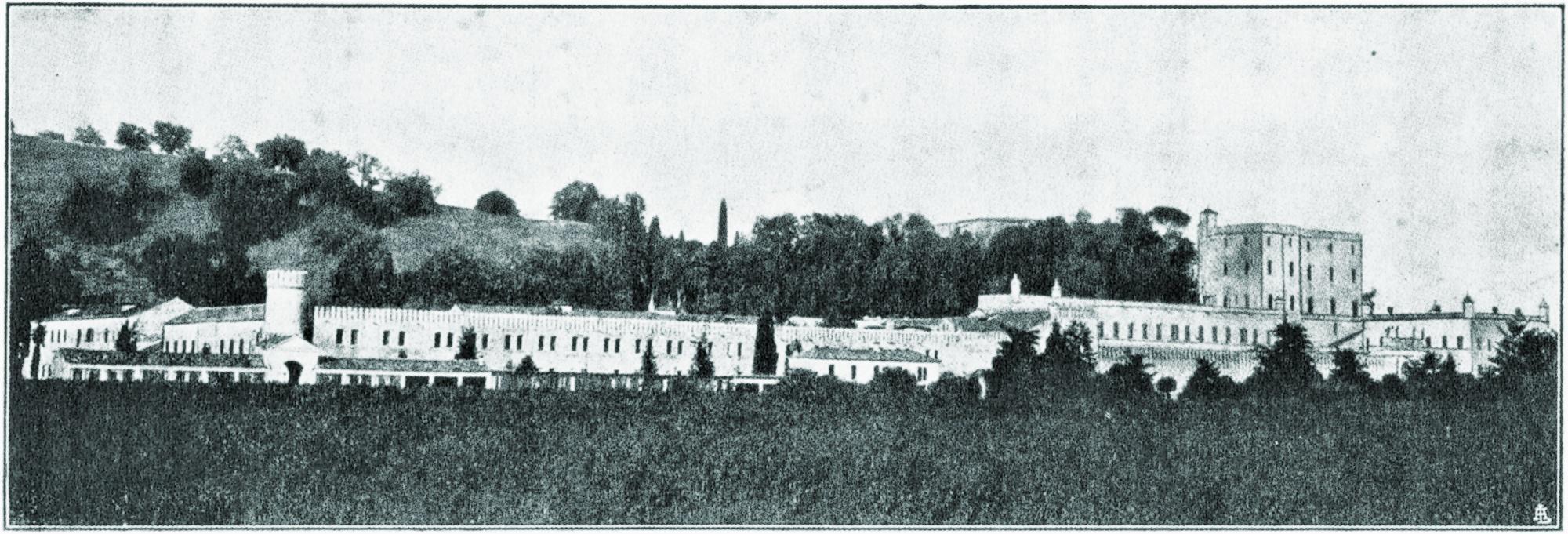 Castello del Catajo, veduta d'insieme.