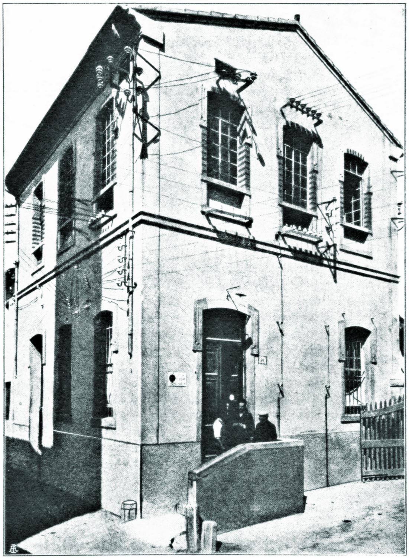 La centrale elettrica di Battaglia, 1925.