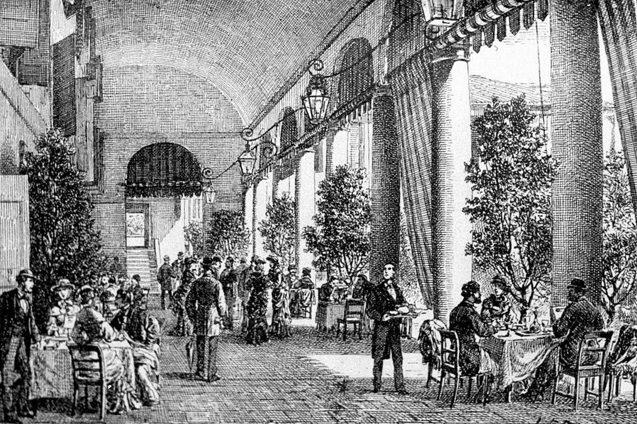Battaglia, Grand Hotel delle Terme (illustrazione).