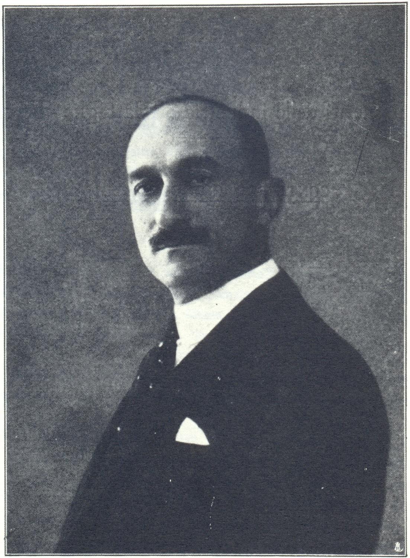 Il Conte Edoardo Corinaldi, membro del Consiglio d'Amministrazione di importanti industrie.