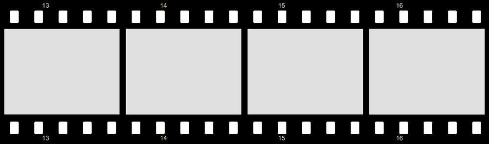 Icona film in bianco e nero.