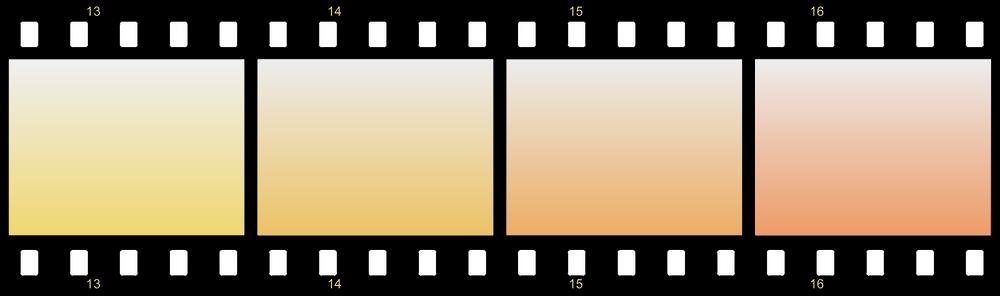 Icona film a colori.