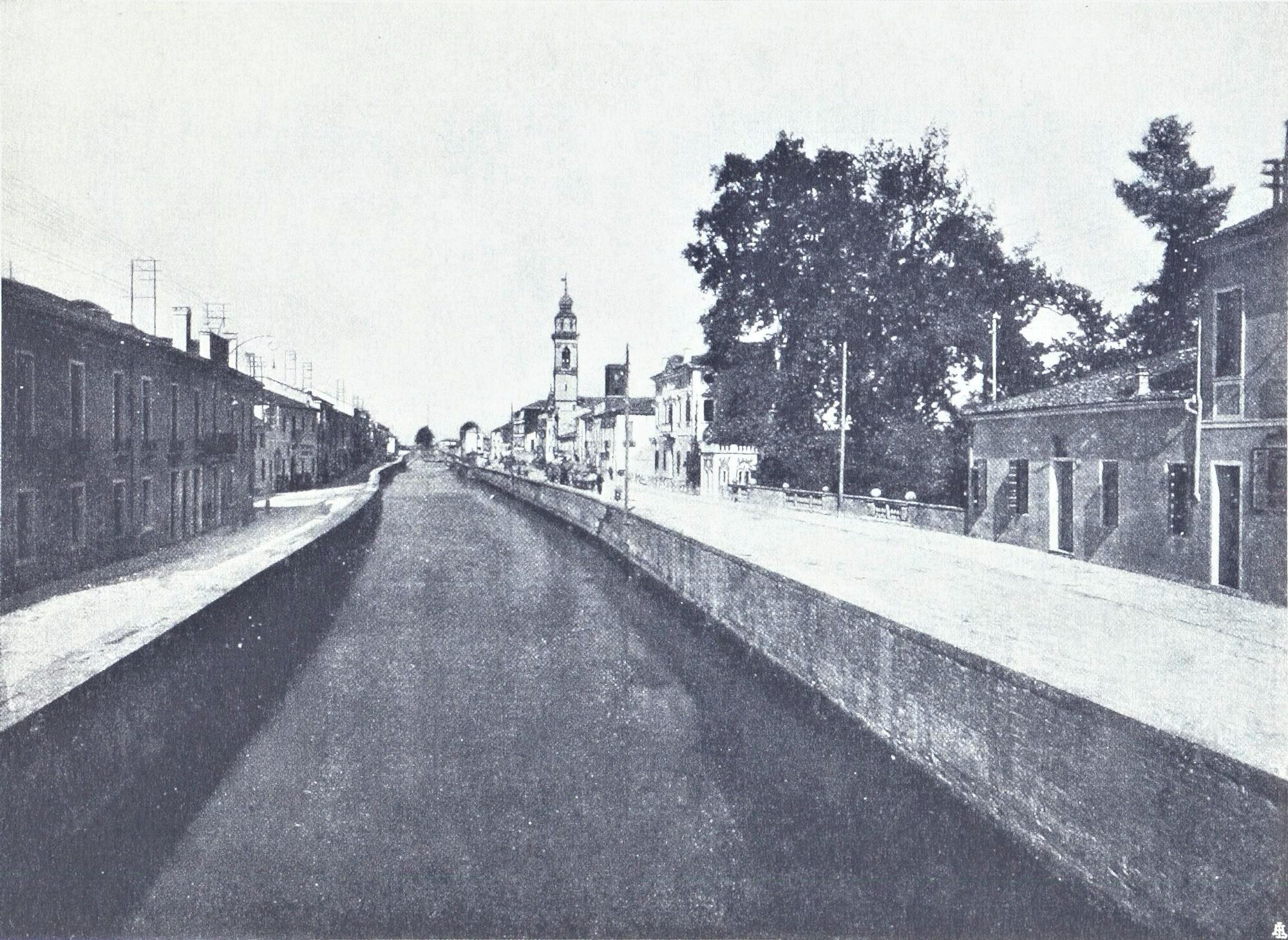 Battaglia, il canale industriale.