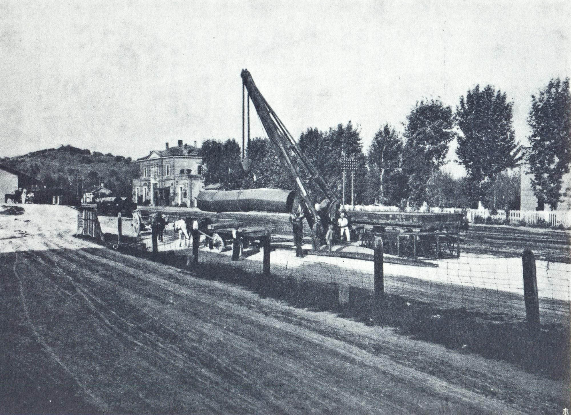 Battaglia, Stazione ferroviaria.