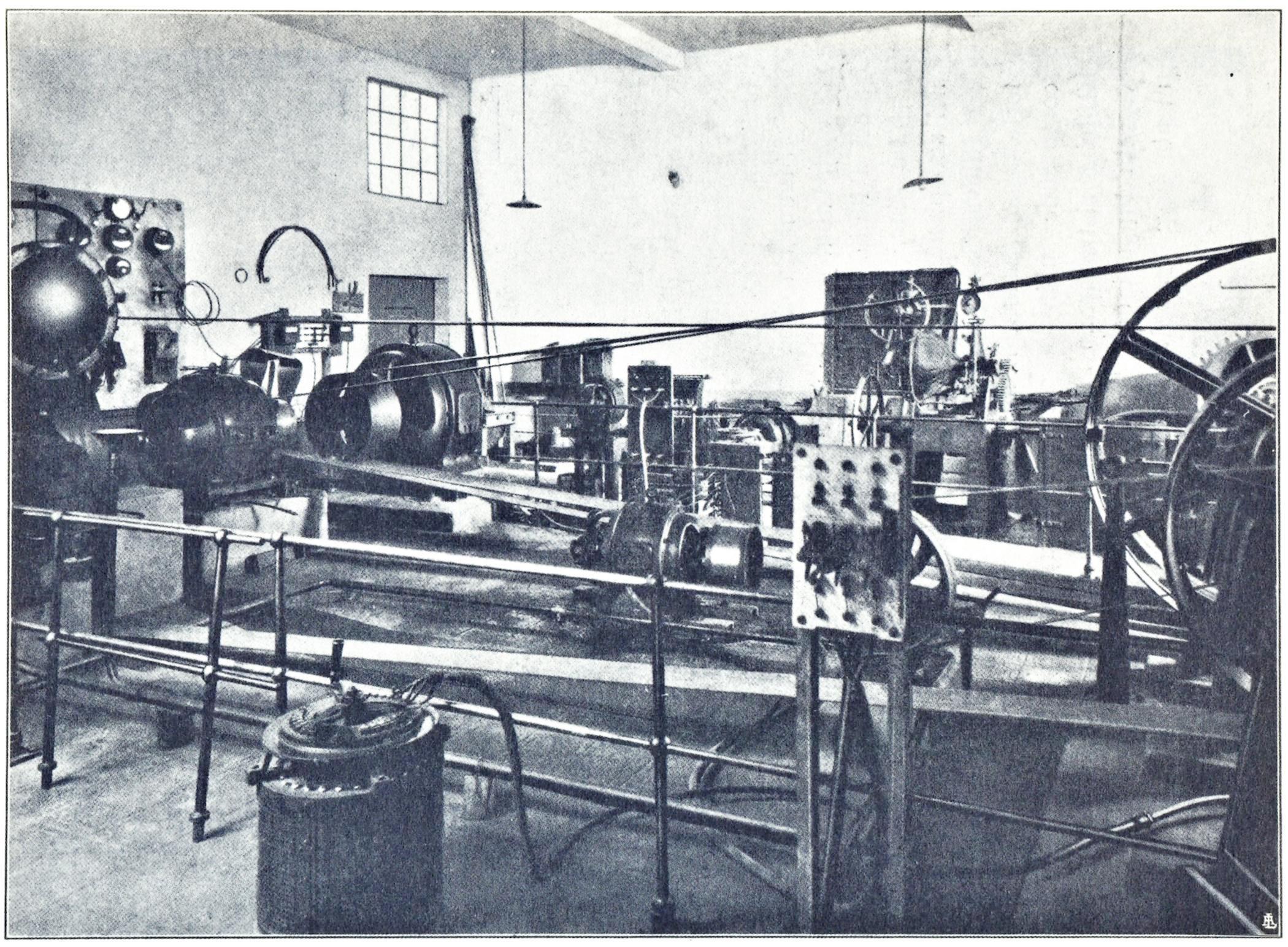Officine di Battaglia, centrale generatrice idroelettrica (1925).
