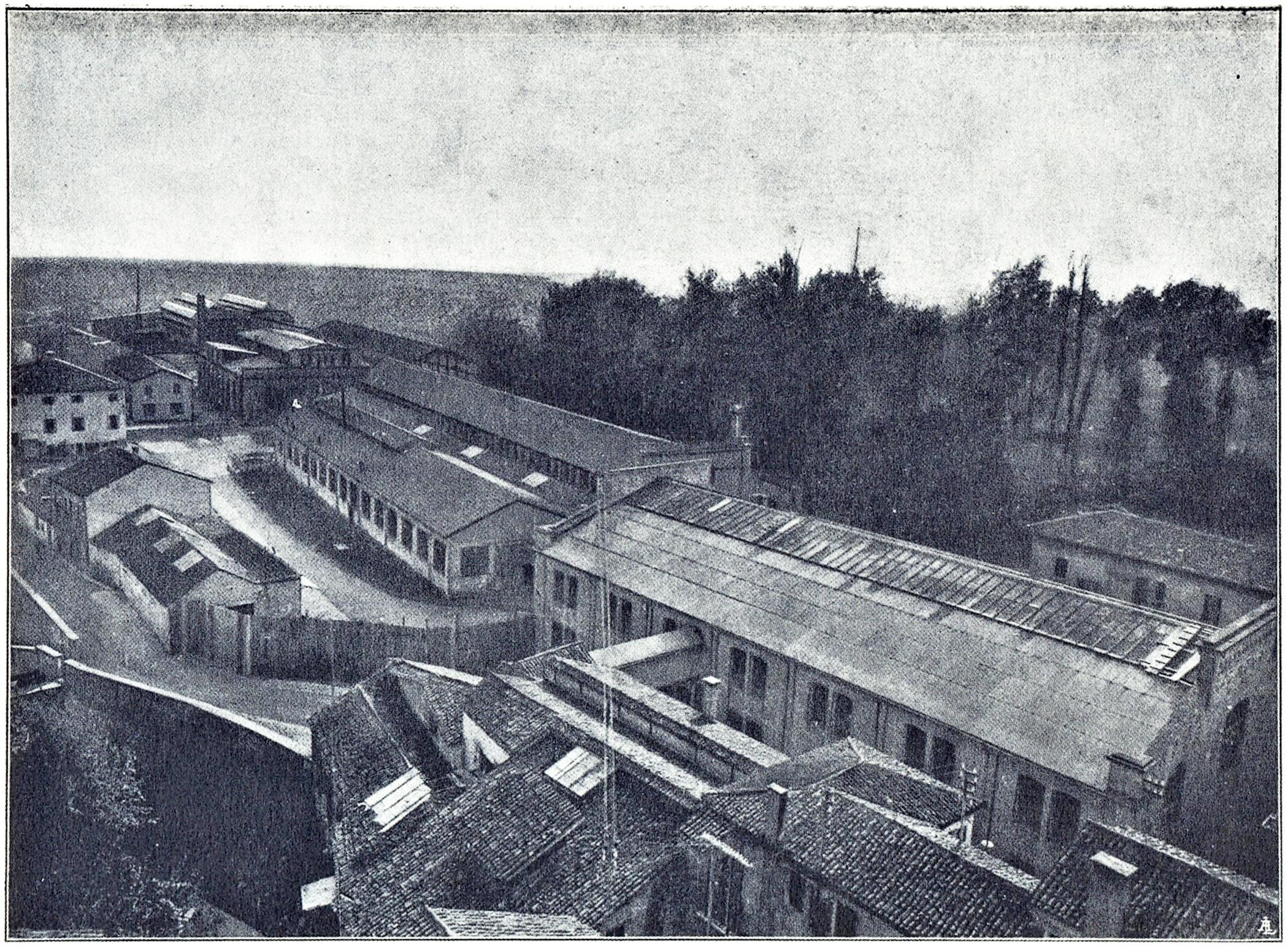 Officine di Battaglia, veduta generale (1925).