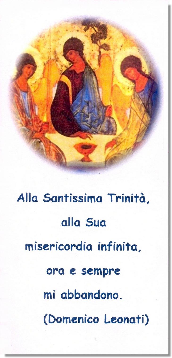 Immagine commemorativa del terzo centenario della nascita di don Domenico Leonati.