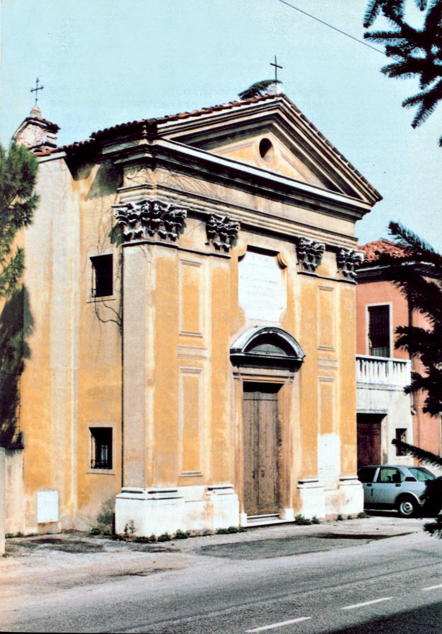 Chiesetta del Conservatorio di Vanzo, antico sobborgo di Padova.