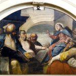S. Giacomo, restauro di lunette e Crocifisso