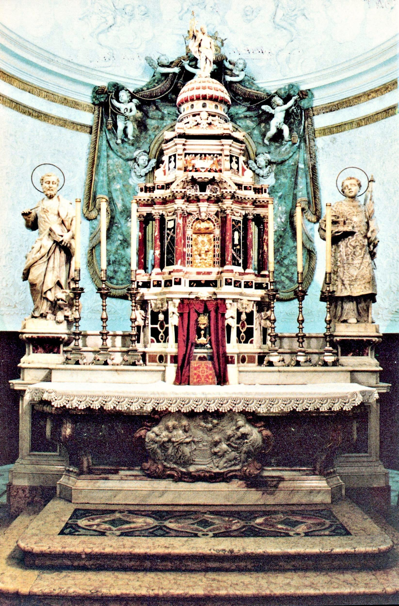 L'altare Maggiore della Chiesa di San Marco a Ponte di Brenta.