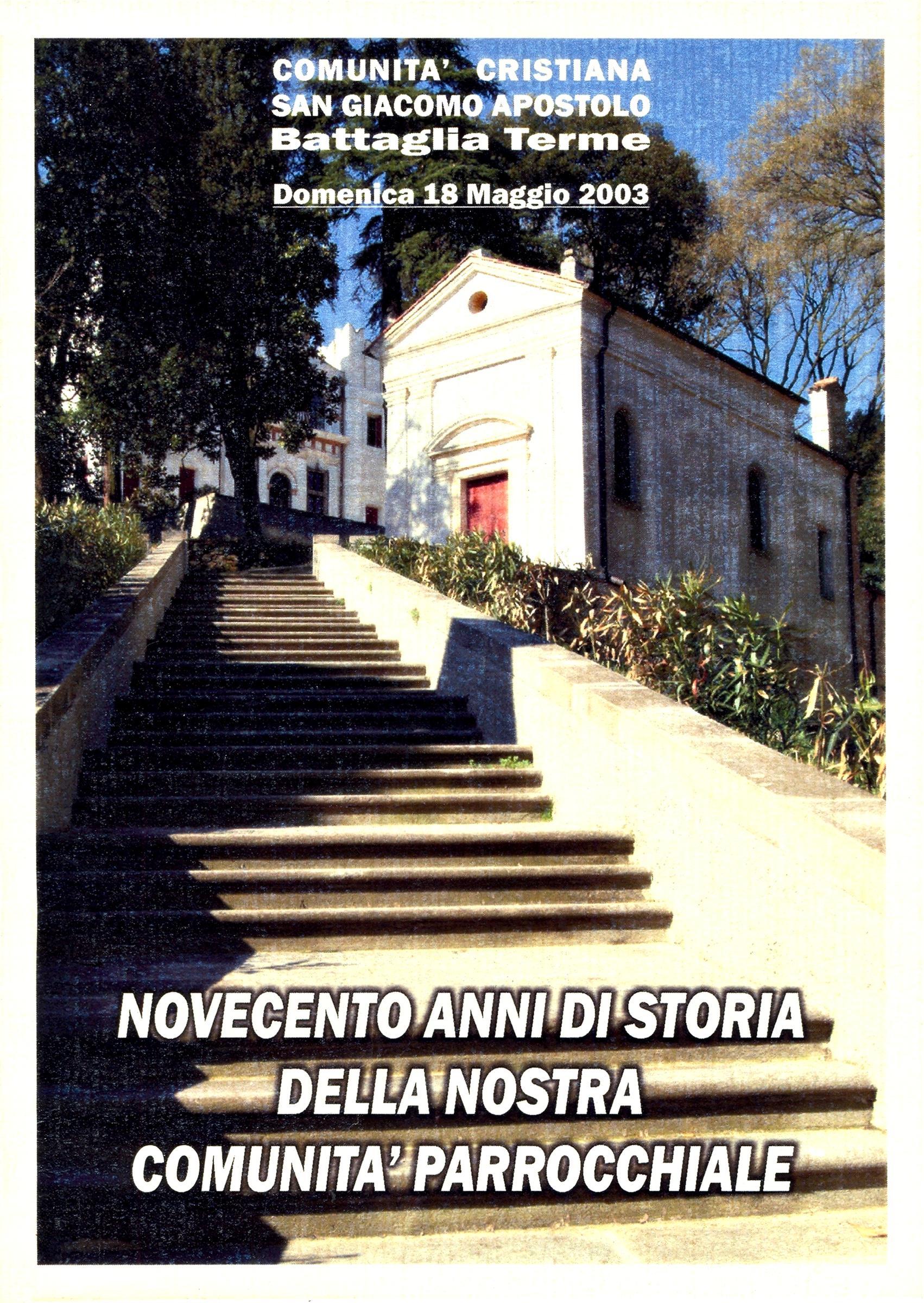 L'attuale oratorio di S. Elena, la prima delle chiese di Battaglia.