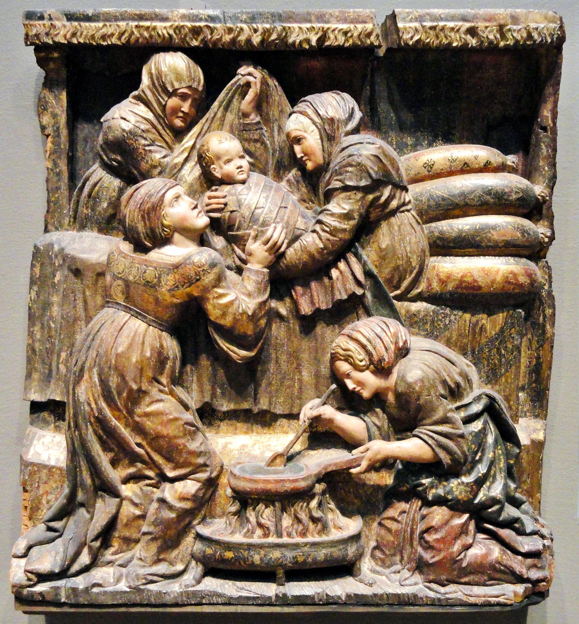 La Nascita di San Giovanni Battista, 1525 ca. Art Institute of Chicago.