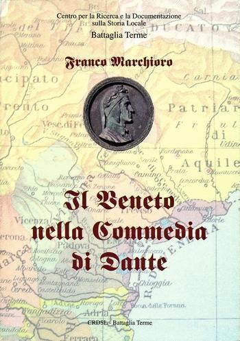 """La copertina del libro """"Il Veneto nella Commedia di Dante""""."""