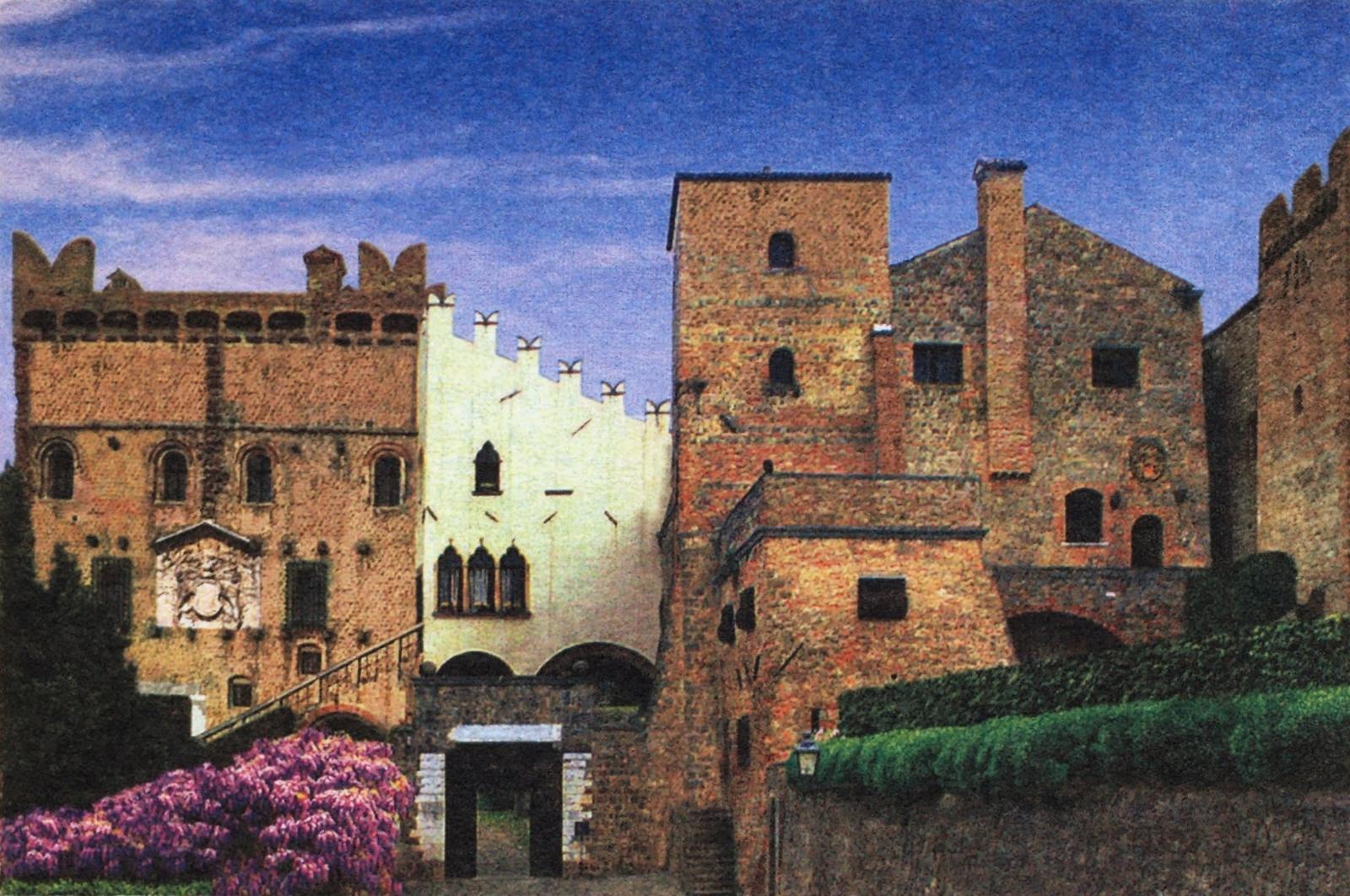 Ca' Marcello a Monselice, dimora di Ezzelino da Romano.