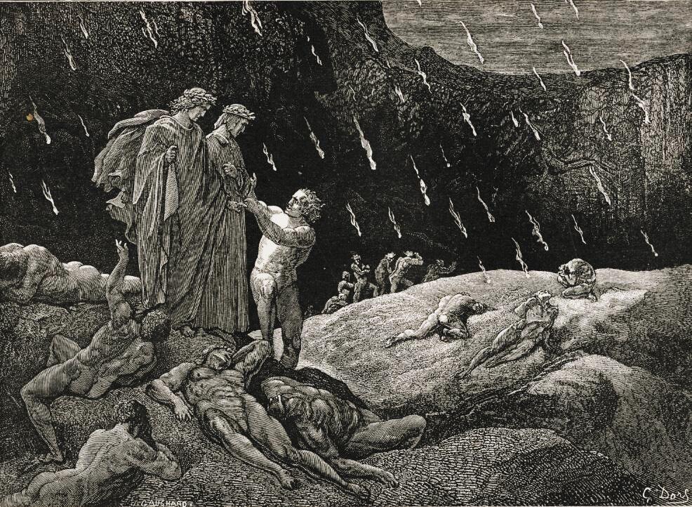 Gustave Doré, Inferno Canto XV.