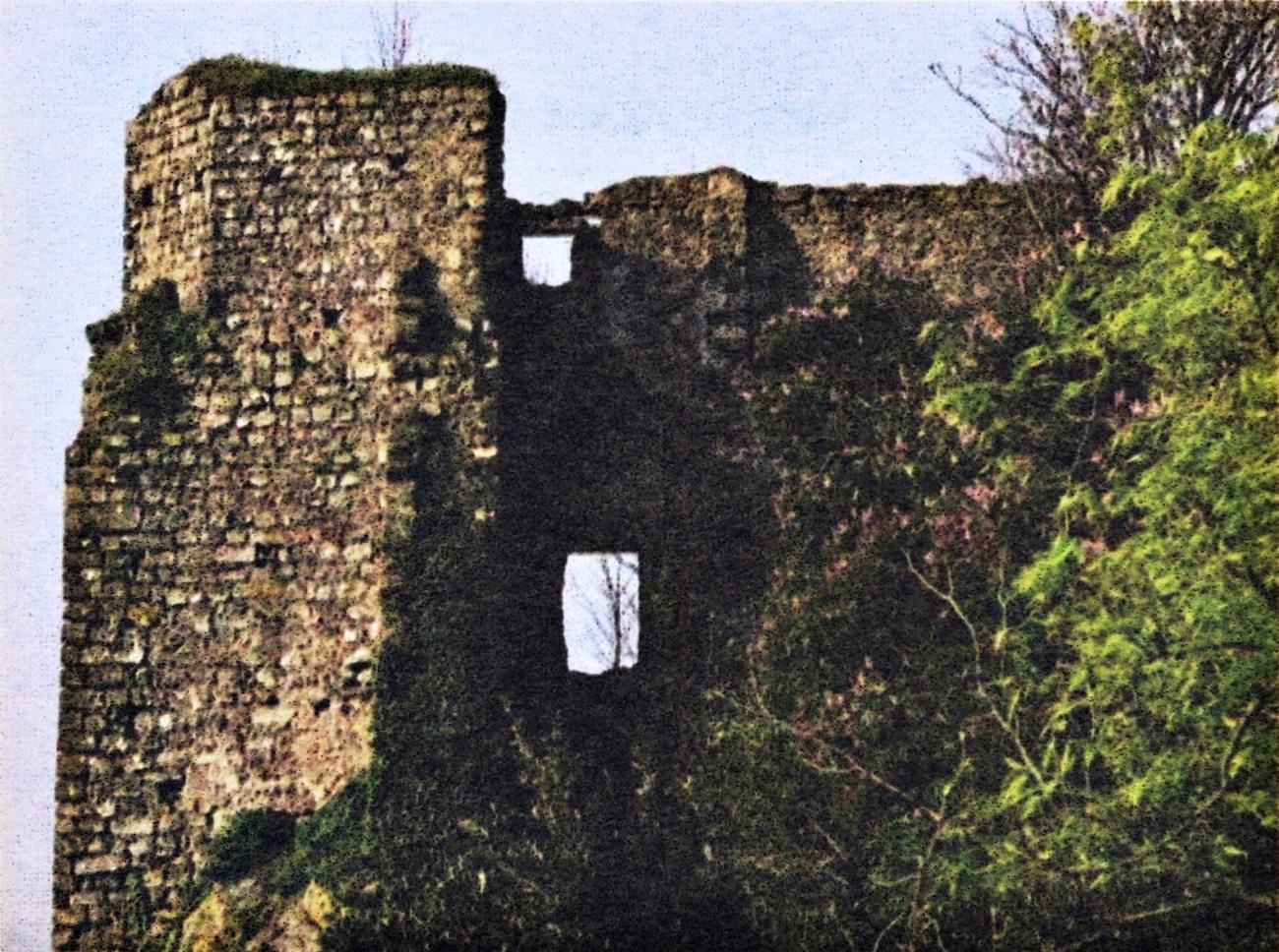 Strada Teolo-Castelnuovo, rovine della presunta dimora di Speronella.