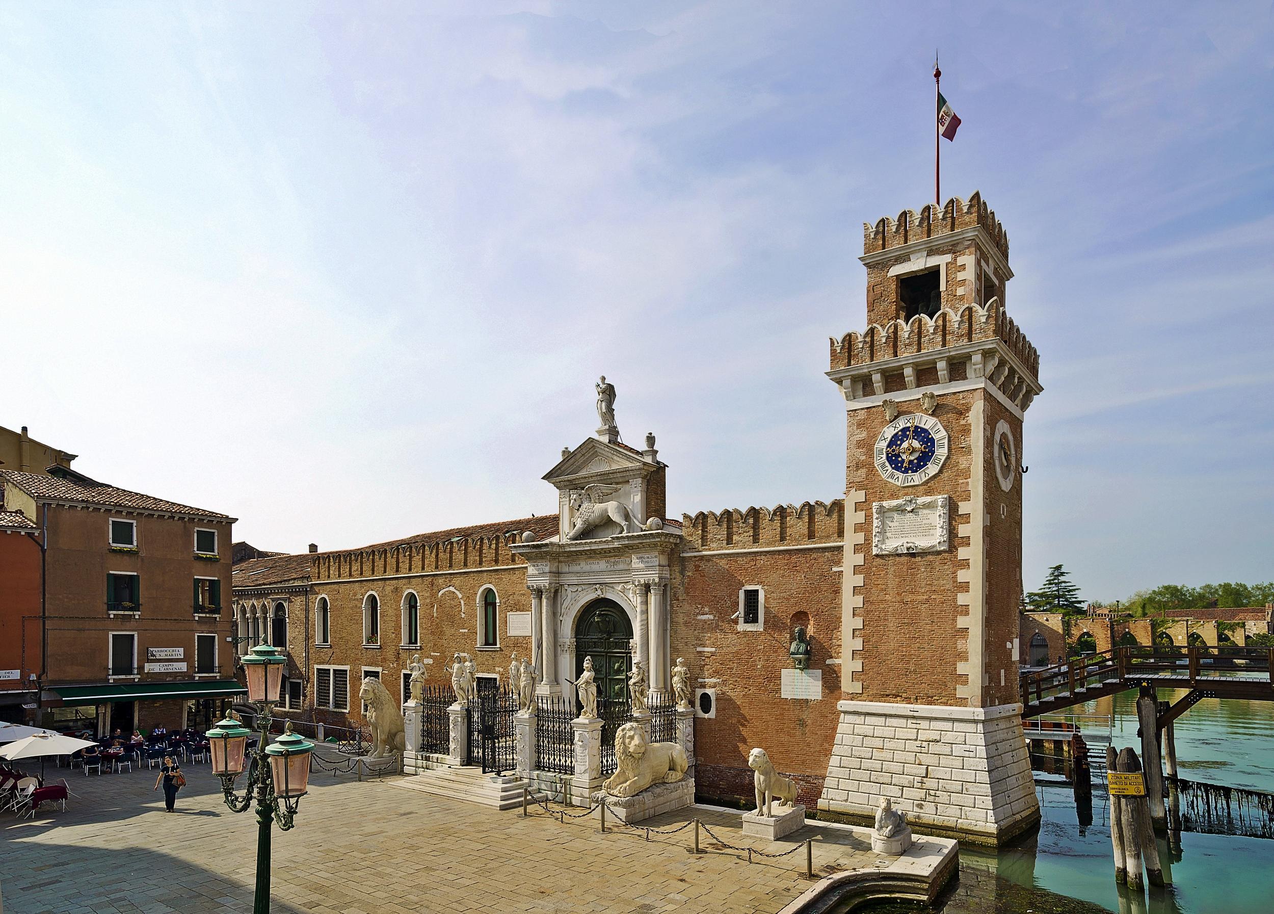 Venezia, Campo de l'Arsenal.