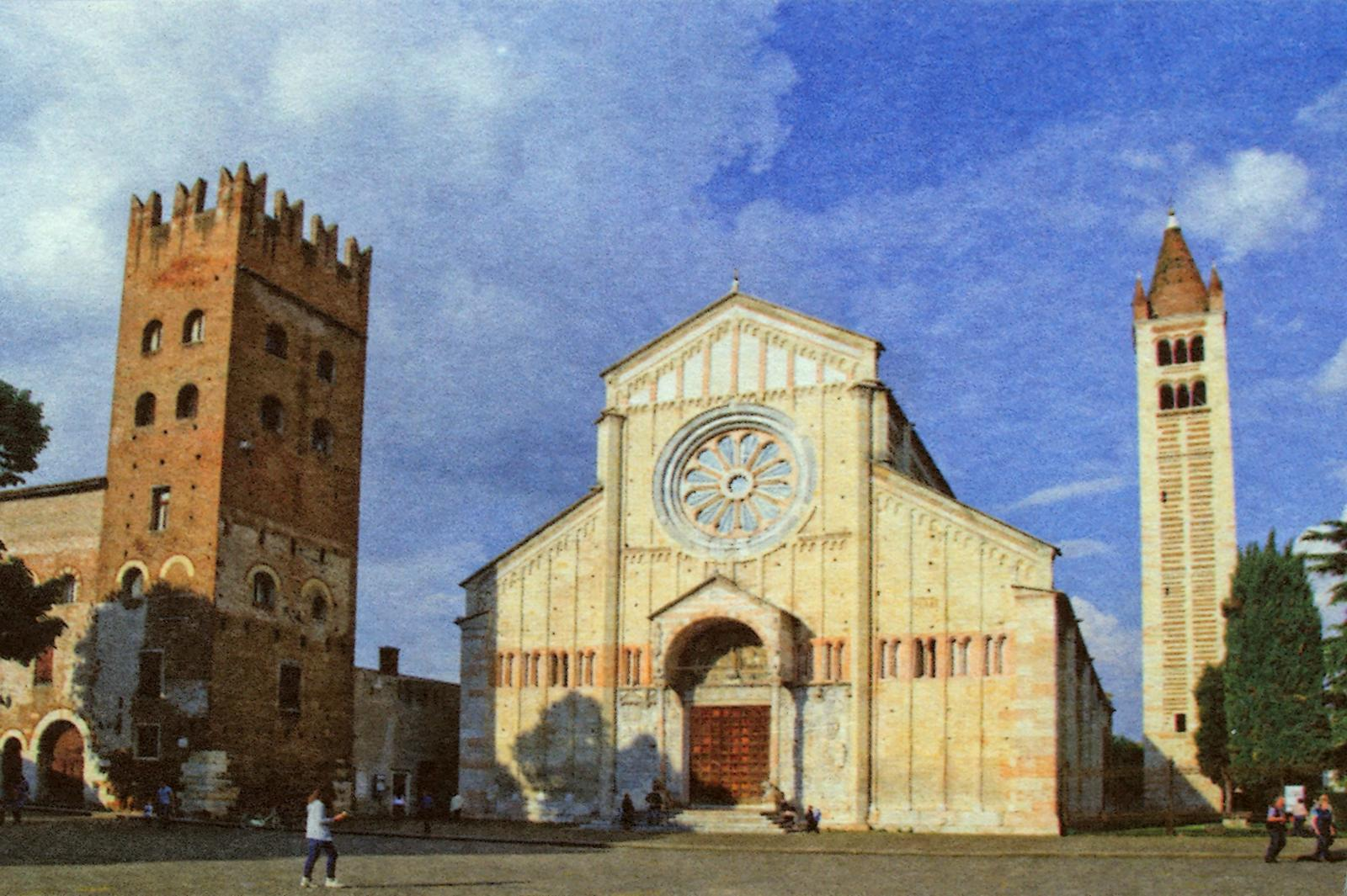 Basilica di San Zeno a Verona (Purgatorio, Canto XVIII).