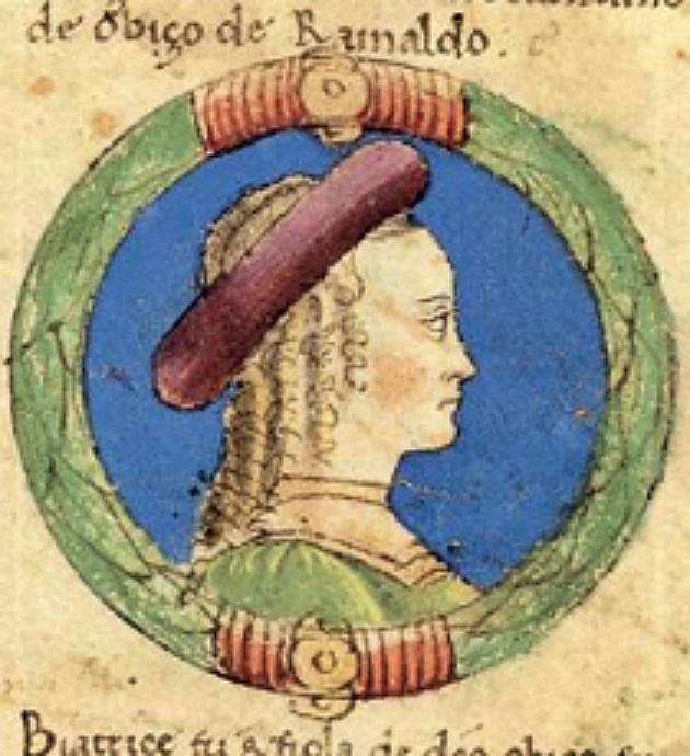 Beatrice d'Este.