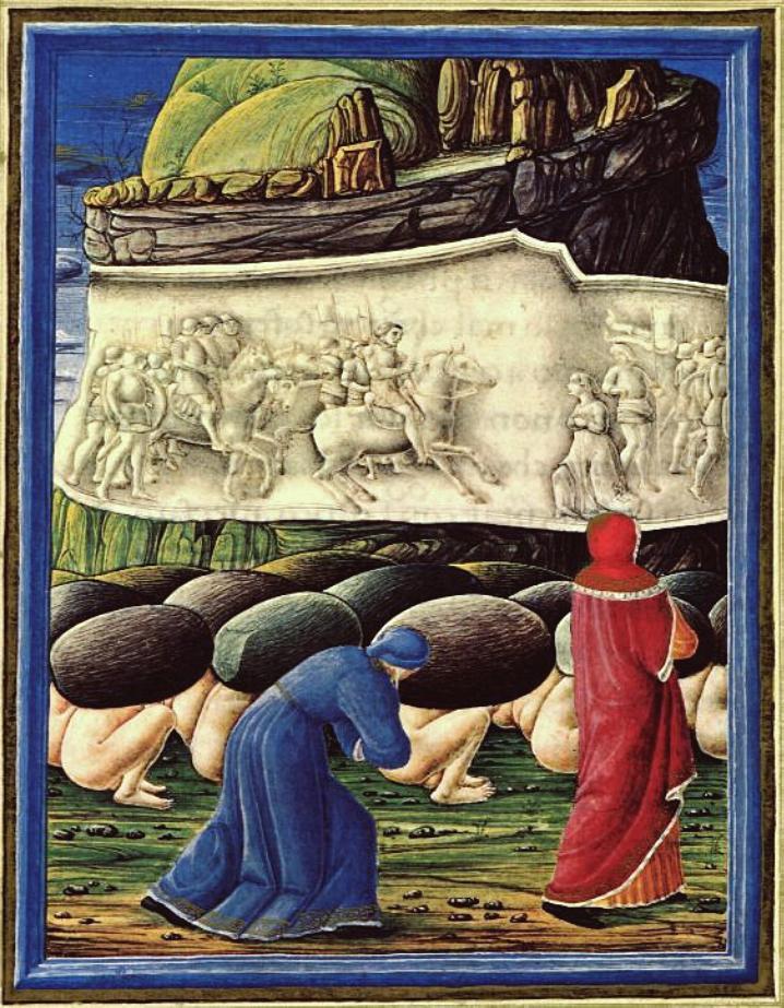 Guglielmo Giraldi, I superbi (Purgatorio, Canto XI).