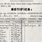 Battaglia, dal 1921 all'avvento del fascismo