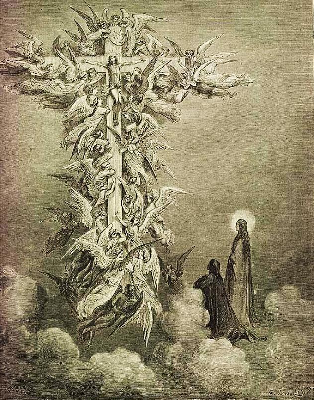 Gustave Doré, La Croce con Cristo.