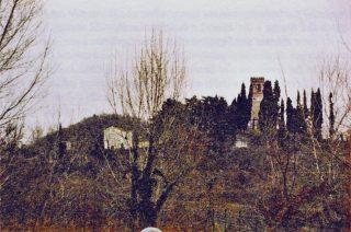 Il Colle Bastia o di Dante a Romano d'Ezzelino (Vicenza).