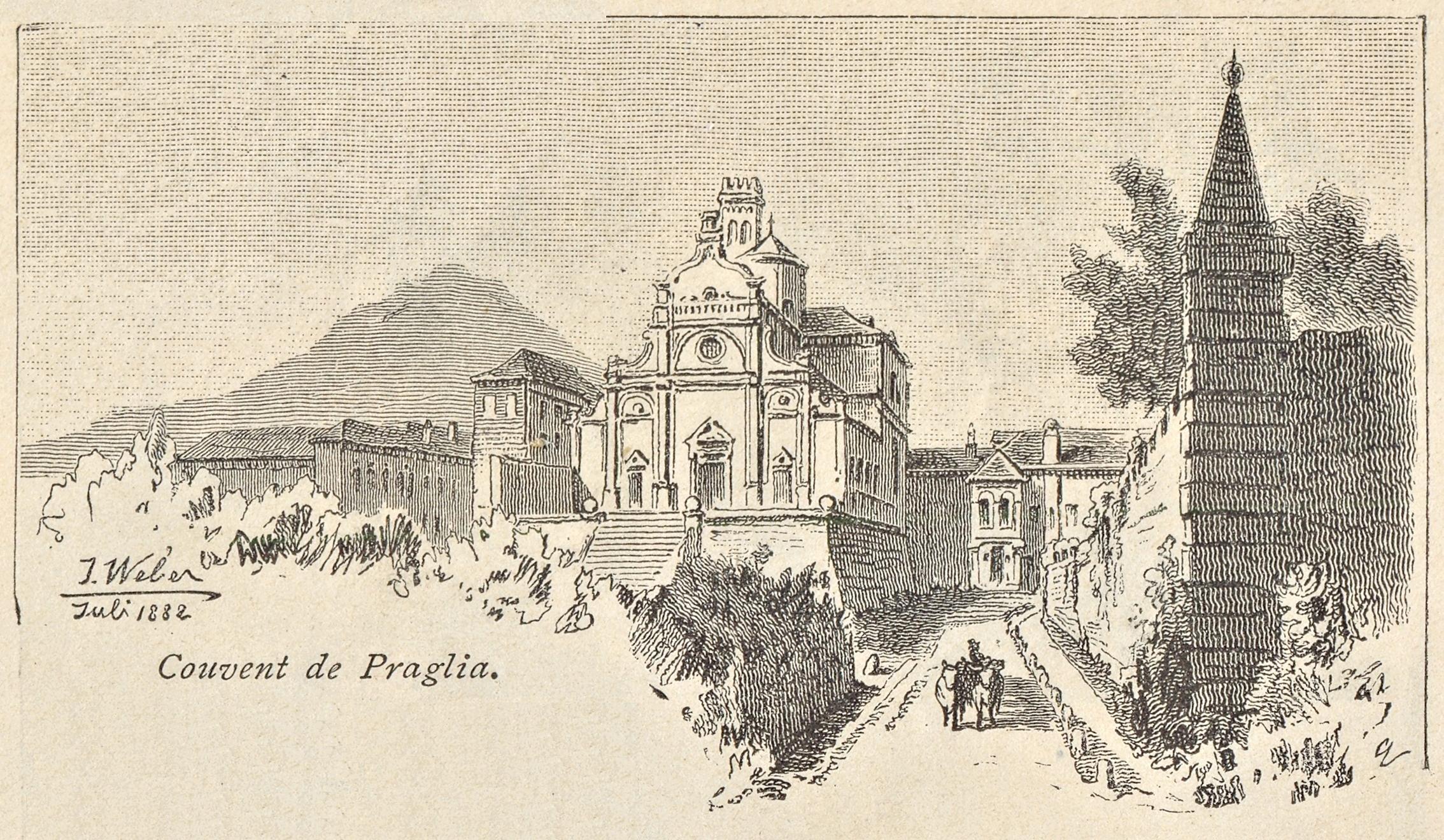 L'abbazia di Praglia (Teolo).