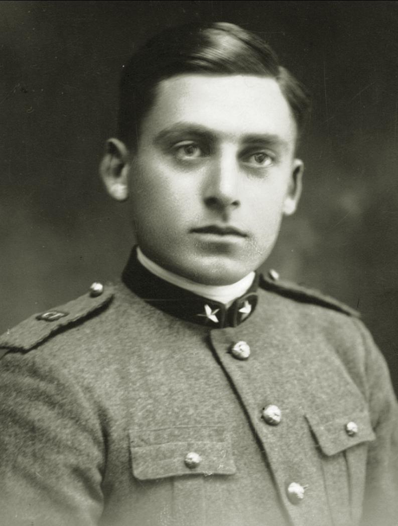 1930, il Geniere Bregolato Taddeo.