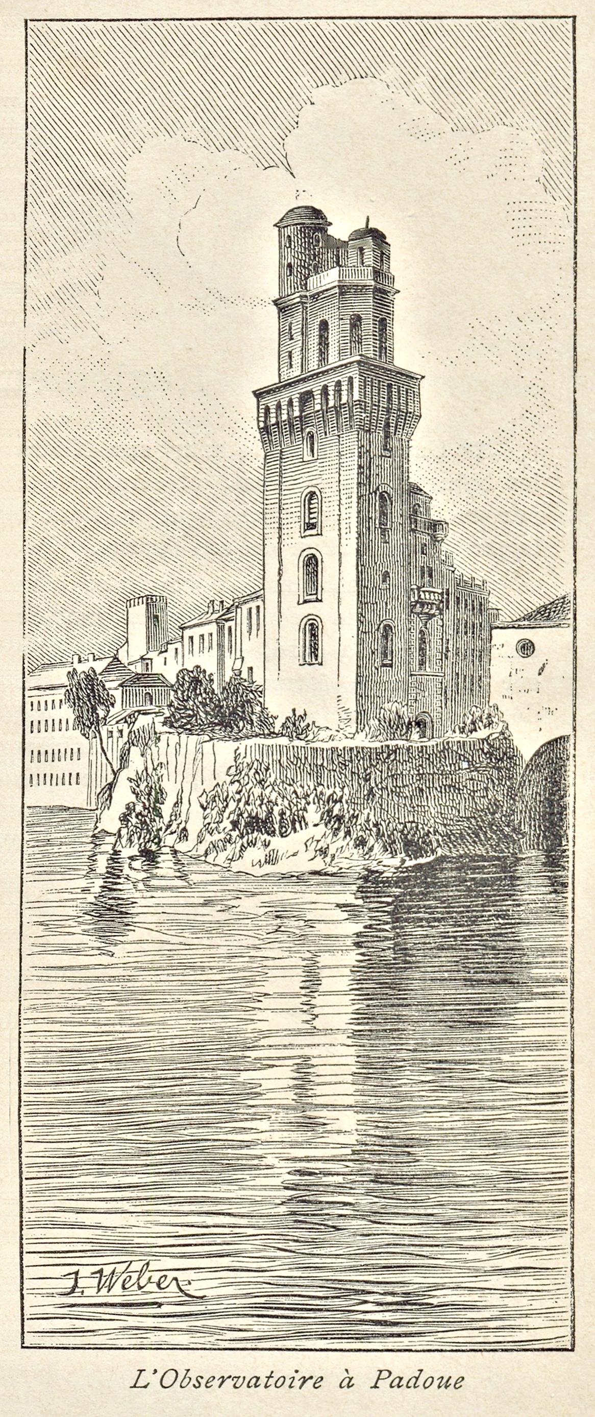 La Torlonga, antica torre di difesa medievale di Padova.